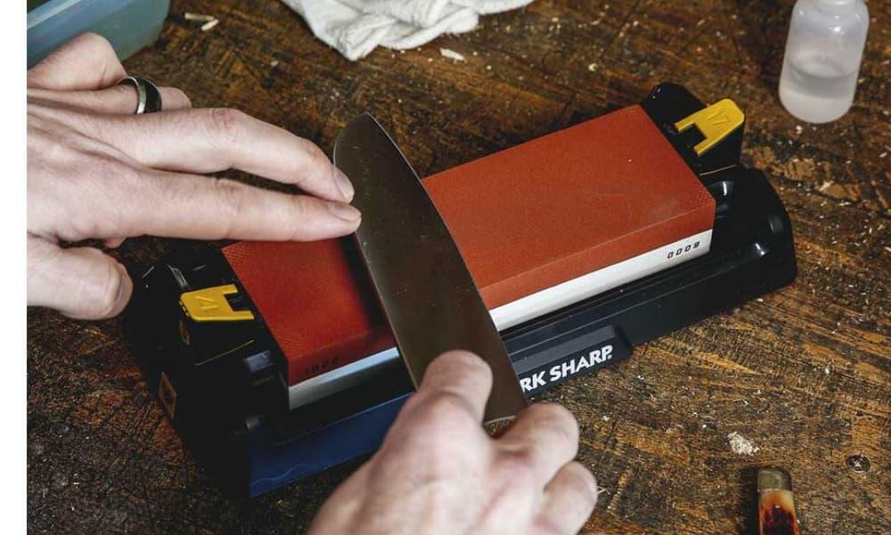 Work Sharp Affilatore Manuale Whetstone Knife Sharpener